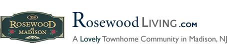 Rosewood in Madison NJ Morris County Madison New Jersey MLS Search Real Estate Listings Homes For Sale Townhomes Townhouse Condos   Rosewood at Madison   Rose wood